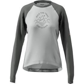 Zimtstern PureFlowz Camiseta Manga Larga Mujer, gris